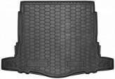 Резиновый коврик в багажник NISSAN X-Trail 2017- (с докаткой) AvtoGumm
