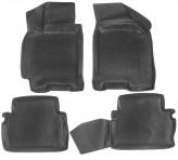 Глубокие резиновые коврики в салон Chevrolet Lacetti Daewoo Gentra L.Locker