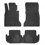 Резиновые коврики BMW F10 5-серия 2013- AvtoGumm