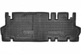 Резиновые коврики Peugeot Traveller (3-й ряд) 2016- AvtoGumm