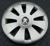 Колпаки Peugeot 423 R16 (Комплект 4 шт.) SKS (с эмблемой)