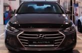 Дефлектор капота Hyundai Elantra 2016- Sim