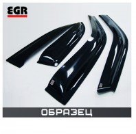 EGR Ветровики тёмные VW PASSAT B6 Sedan 4шт.