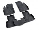 Глубокие резиновые коврики в салон Fiat Doblo 2001-2015 L.Locker