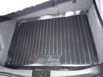 Коврик в багажник Ford Focus I hatchback (98-04) L.Locker