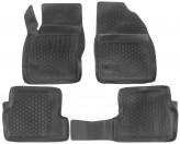 Глубокие резиновые коврики в салон Ford Focus 2004-2011 L.Locker