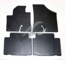 Резиновые коврики Hyundai ix 55 (Veracruze) Gumarny Zubri
