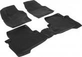 L.Locker Глубокие резиновые коврики в салон Ford Kuga 2012-