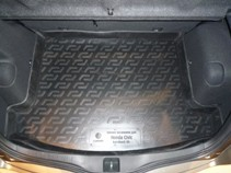 L.Locker Коврик в багажник Honda Civic hatchback 2006-2012 3D 5D