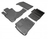 Unidec Резиновые коврики глубокие Honda CR-V 2002-2006 СЕРЫЕ