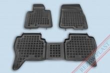 Резиновые коврики глубокие Mitsubishi Pajero Wagon 3