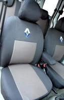 Prestige LUX Чехлы на сиденья Renault Sandero (цельная) 2008-