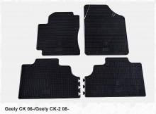 Резиновые коврики Geely CK 06- Geely CK-2 08-