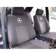 Чехлы на сиденья Mercedes W202 (деленная) Prestige LUX