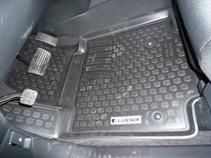 Глубокие резиновые коврики в салон Honda Pilot (08-)