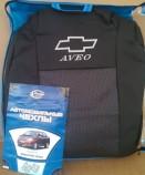 Чехлы на сиденья Chevrolet Aveo sedan 2002-2012 Prestige LUX