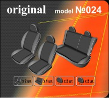 EMC Чехлы на сиденья Chevrolet Lacetti Sedan