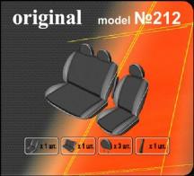 EMC Чехлы на сиденья Ford Tranzit 2006- (2+1)