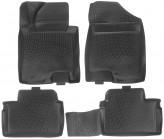 Глубокие резиновые коврики в салон Hyundai i30 KIA Ceed 2012- L.Locker