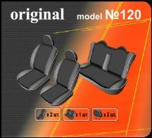 Чехлы на сиденья Hyundai Sonata NF 2005-2010 (цельная) EMC