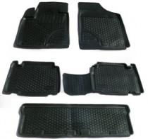 Глубокие резиновые коврики в салон Hyundai ix55 (08-)