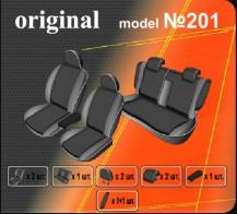 EMC Чехлы на сиденья Mitsubishi Lancer X Sedan (об. 1.5)