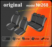 EMC Чехлы на сиденья Nissan X-Trail (T31) 2010-