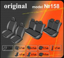 EMC Чехлы на сиденья Opel Zafira A 7мест