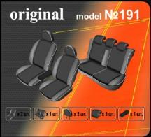 EMC Чехлы на сиденья Renault Fluence 2009-2013- (деленный)
