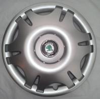 SKS (с эмблемой) Колпаки Skoda 402 R16 (Комплект 4 шт.)