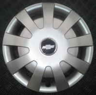 Колпаки Chevrolet 405 R16 (Комплект 4 шт.) SKS (с эмблемой)