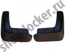 L.Locker Брызговики задние Mazda 3 HB 2013-