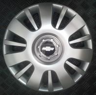 Колпаки Chevrolet 407 R16 (Комплект 4 шт.) SKS (с эмблемой)