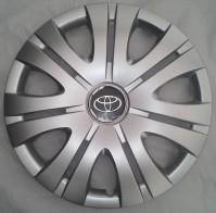 Колпаки Toyota 408 R16 (Комплект 4 шт.) SKS (с эмблемой)