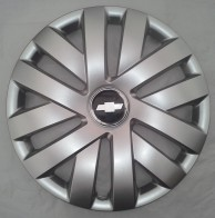 Колпаки Chevrolet 409 R16 (Комплект 4 шт.) SKS (с эмблемой)