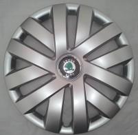 Колпаки Skoda 409 R16 (Комплект 4 шт.) SKS (с эмблемой)