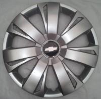 Колпаки Chevrolet 411 R16 (Комплект 4 шт.) SKS (с эмблемой)