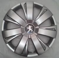 SKS (с эмблемой) Колпаки Peugeot 411 R16 (Комплект 4 шт.)