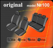 EMC Чехлы на сиденья Suzuki SX4 HB 2006-2010-