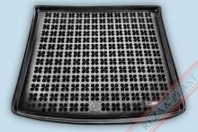 Резиновый коврик в багажник Mitsubishi Outlander 2012- (с органайзером) Rezaw-Plast