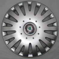SKS (с эмблемой) Колпаки Skoda 306 R15 (Комплект 4 шт.)