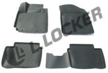 Глубокие резиновые коврики в салон Kia Picanto (11-) L.Locker
