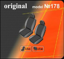 Чехлы на сиденья Volkswagen Transporter 4 (1+1) EMC
