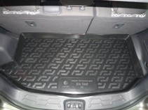 L.Locker Коврик в багажник Kia Soul 2009-2014 (верхний ярус)