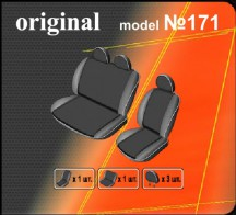 Чехлы на сиденья Volkswagen Transporter 4 (2+1) EMC