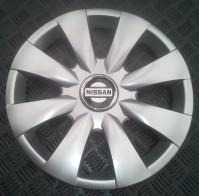 Колпаки Nissan 316 R15 (Комплект 4 шт.) SKS (с эмблемой)