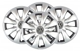 Колпаки VW 316 R15 (Комплект 4 шт.) SKS (с эмблемой)