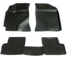 Глубокие резиновые коврики в салон Lifan Solano 620 (08-) L.Locker