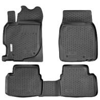 L.Locker Глубокие резиновые коврики в салон Mazda 6