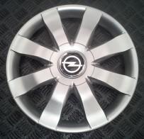 Колпаки Opel 323 R15 (Комплект 4 шт.) SKS (с эмблемой)